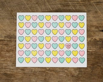 Sweethearts card