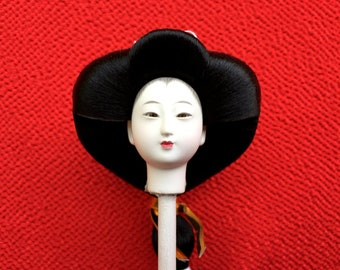 Japanese Doll Head - Hina Matsuri Female Doll Head (D8-31)