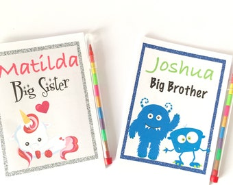 Personalised Activity Pack For Big Sister / Big Brother