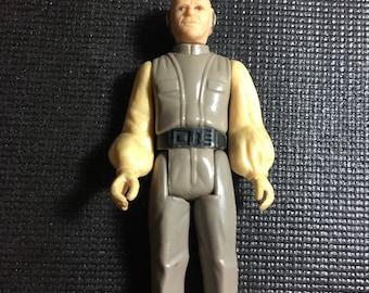 Star Wars Vintage 1980 LFL Kenner Action Figure Lobot (Lando's Aid) - Empire Strikes Back Rare Vintage Figure