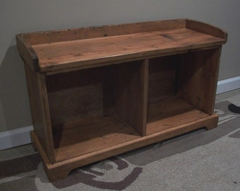 """Reclaimed wood - Entryway Bench 32"""""""
