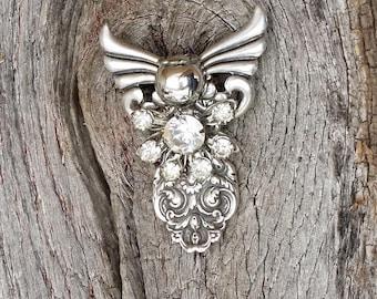 Sterling Silver Angel Pin