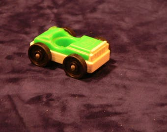 Fisher Price Little People Green Car