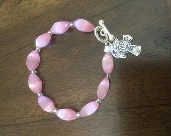 Decade Rosary bracelet