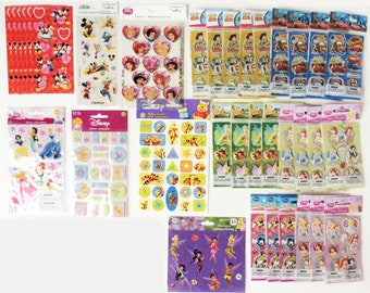 LAST CHANCE! 1,000+ Assorted Disney Stickers and Ariel Confetti
