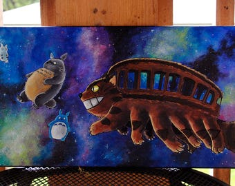 Totoro Spirits in Space