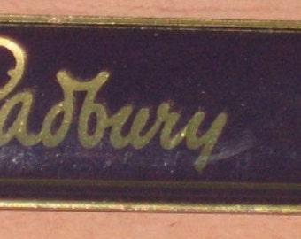 Vintage Cadbury Chocolate English Advertising Brooch