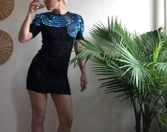 Holiday Sparkle Mini Dress
