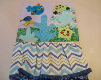 Under-the-Sea Kid's Travel Play Mat