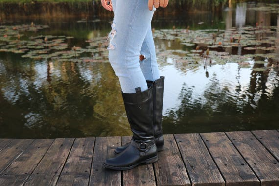 Buckle Leather Boots Close Shoes Black Handmade Shoes Handmade Zippered Shoes Boots Winter Shoes Dress With Winter Leather Boots Tall 0nZ4ETx