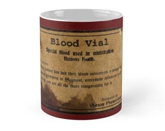 Blood Vial Bloodborne Mugs, Bloodborne Game Mugs, Gamer Mug, Video Game Mugs ,