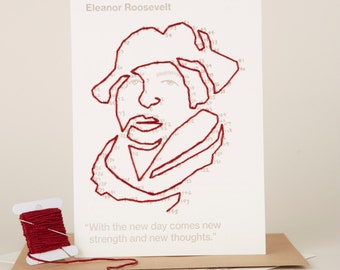 Stitchable Change-maker Eleanor Roosevelt