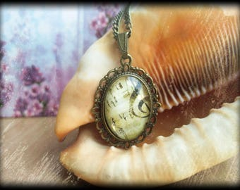 TREBLE CLEF Necklace, Treble Clef Pendant, Treble Clef Jewelry, Music Necklace, Music note necklace, Sheet Music, Music Teacher Gift