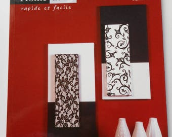 """""""Home Decor trend"""" book - quick and easy - to decorate your walls"""