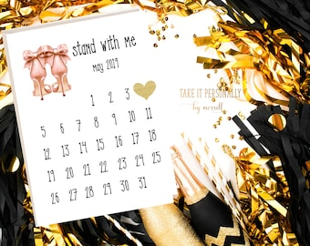 Will you be my bridesmaid, bridesmaid proposal box kit, bridesmaid invitation