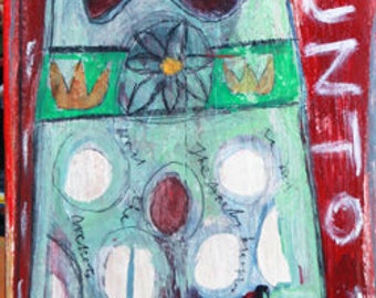 Angel Art, Outsider Art, Folk Art