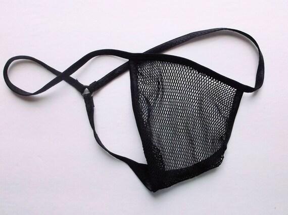 Mens G String Micro Thong Sheer Naked ULTRA NUDE | Etsy