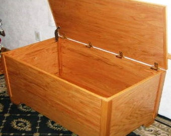 Wooden Blanket Chest Building Plans