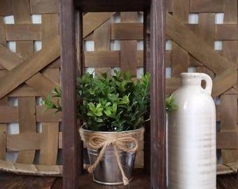 Farmhouse Wooden Lantern