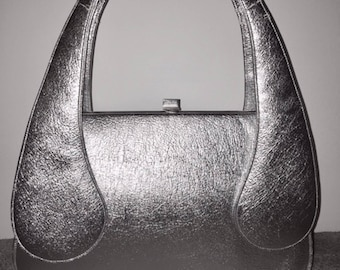 Amazing 1970s silver space age bag