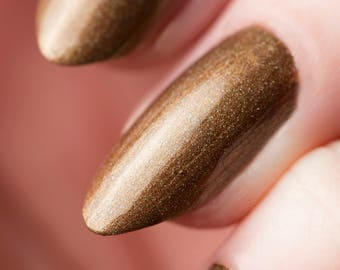 Radroach Nail Lacquer - Holographic Rust - Tips from the Wasteland - .45oz/13.2mL