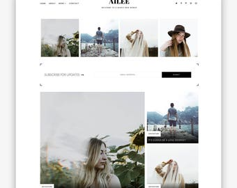 Ailee | Responsive Minimalist Premade Blogger Template
