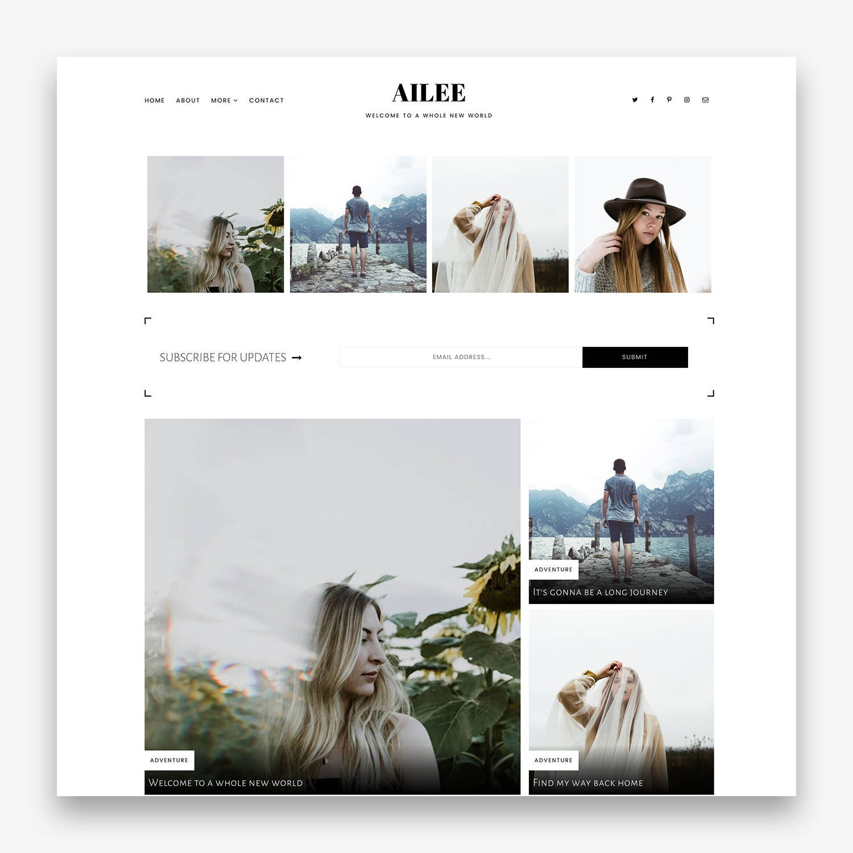 Ailee Responsives minimalistisch vorgefertigte
