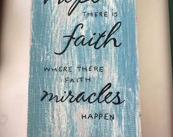 Hope, Faith, Miracles
