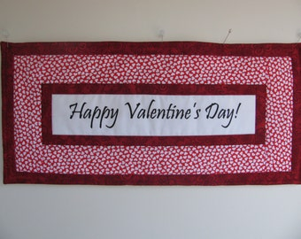 Wall Hanging-VALENTINE'S DAY BANNER