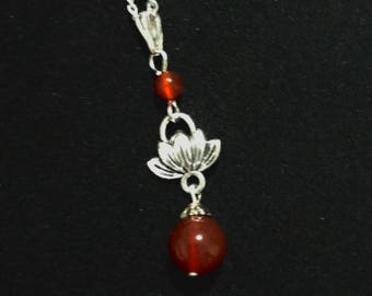 Orb of Lotus Necklace