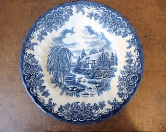 "Vintage Myott 'The Brook' 8"" Plate"