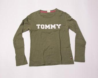 Vintage Tommy Girl 90s Logo Print Tshirt
