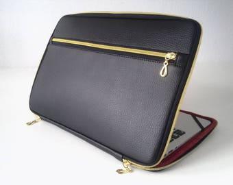 Macbook Case Black Pocket Laptop Case Macbook Pro 13 Case Laptop Sleeve 13 Macbook Air Case Laptop Bag Macbook Pro Case Macbook Pro 15 Case