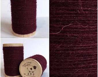 Rustic Moire Wool Thread #390 for Embroidery, Wool Applique and Punch Needle Embroidery