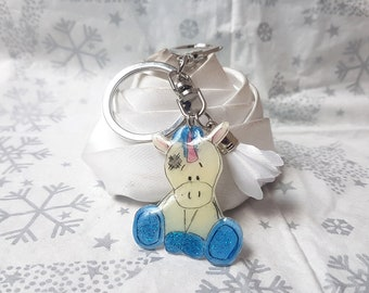 my little rascal horse Keyring or bag charm