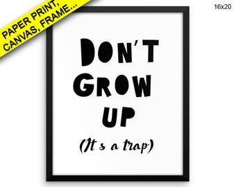 Trap Wall Art Framed Grow Canvas Print Trap Framed Wall Art Grow Poster Trap Nursery Art Grow Nursery Print Trap Kids Room Wall Art Decor