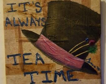 mad hatter tea time