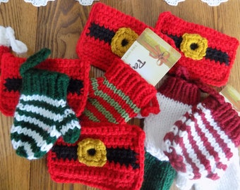 Crochet and Knit Gift Card Holders