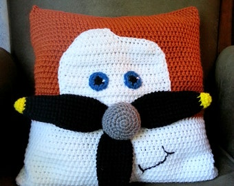 Crochet Pattern - Airplane Pillow