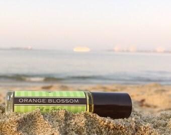 Mother's Day Gift // ORANGE BLOSSOM || Roll on Perfume || long lasting scent || vegan || Birthday Gift