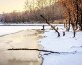 A Lake Frozen