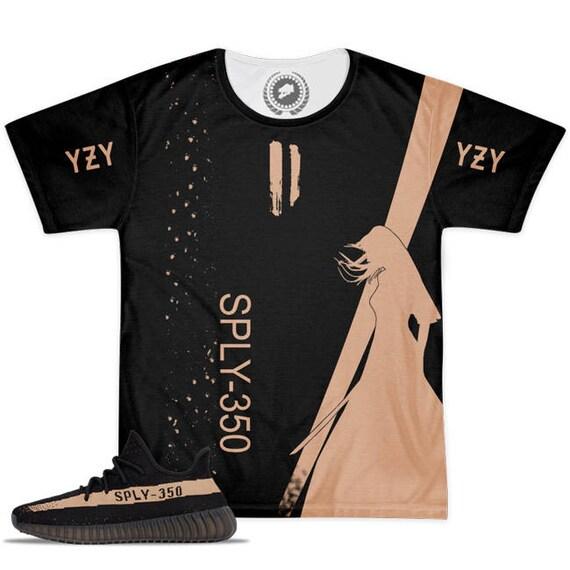 32a431d7d596cc ... Yeezy Boost 350 v2 Zebra Sneaker Match T-Shirt by Chef V1 ...