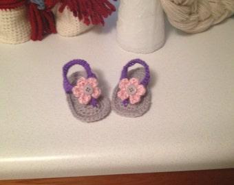 Crochet flip flops!