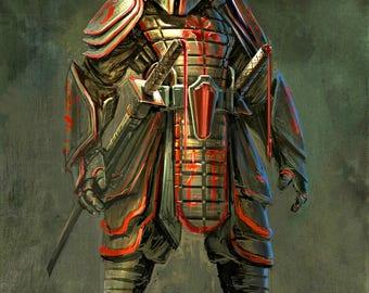 STAR WARS - Samurai Boba Fett