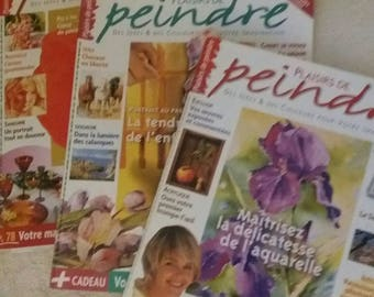 magazine pleasure of painting set of three