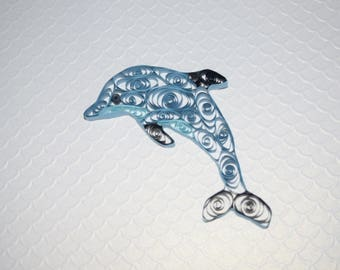 Paper Quilling Dolphin