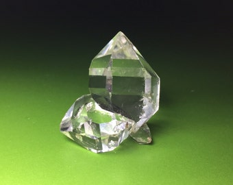 A+ Herkimer Diamond Water Clear Quartz  Crystal Cluster NY Awesome!!
