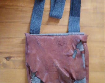 Bag, foraging bag, haversack. Messenger bag. Reenacting rendezvous bag