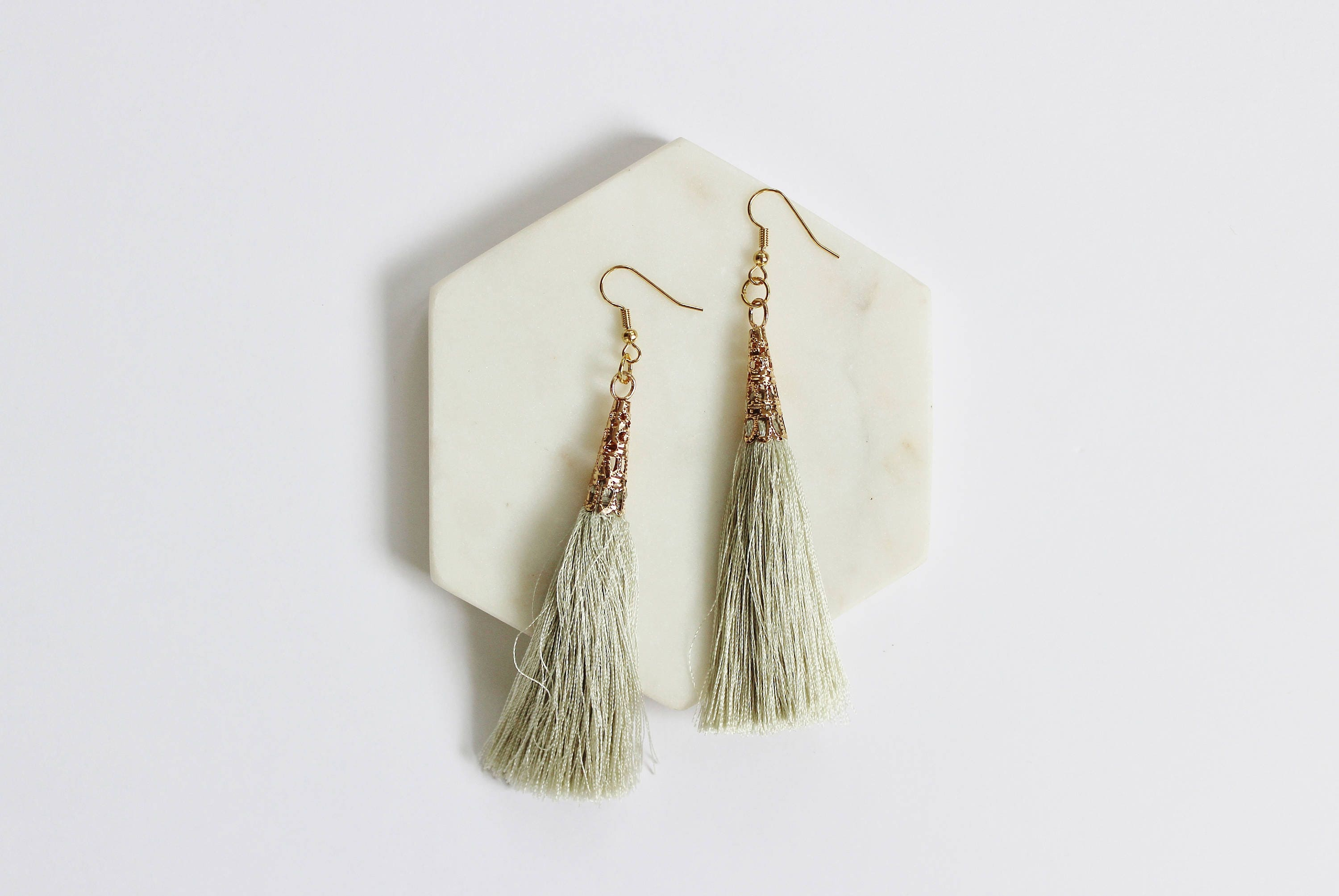 brass house mercy earrings fringe nude products teardrop earring global