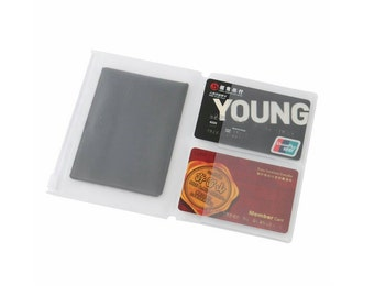 Passport size Travelers notebook card holder/pocket